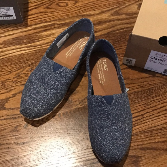 Toms Shoes | Toms Classic Blue Marl